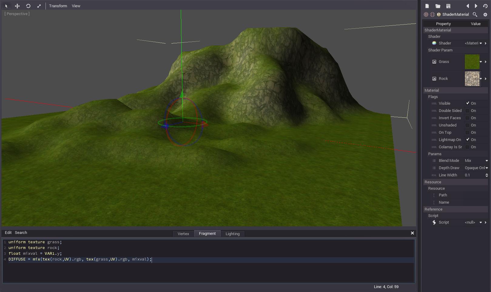 Simple Terrain Shader Tutorial   FFX Runner 2